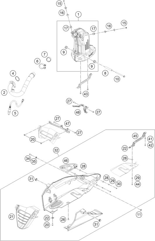 ktm newcastle - rc 390 white abs b d  15 2015