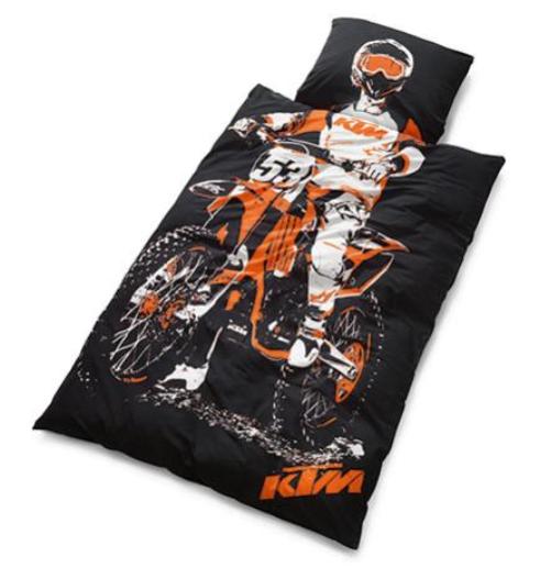 ktm newcastle ktm ktm rider bed linen 3pw1575100. Black Bedroom Furniture Sets. Home Design Ideas
