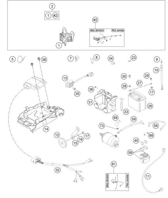 ktm newcastle 300 exc 2014 wiring harness. Black Bedroom Furniture Sets. Home Design Ideas