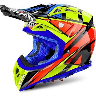 New 2019 Airoh Twist Great Matt Orange Helmet Motocross Enduro S M L XL KTM